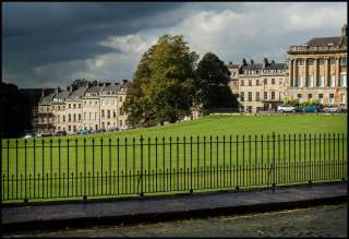 Royal Crescent with Storm Approaching